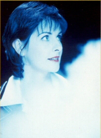 Enya: publicity still from Anywhere Is